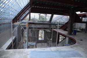 鋼構結構暨內部隔間工程施工
