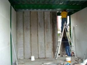 舊公寓翻修工程-陶粒牆隔間施工